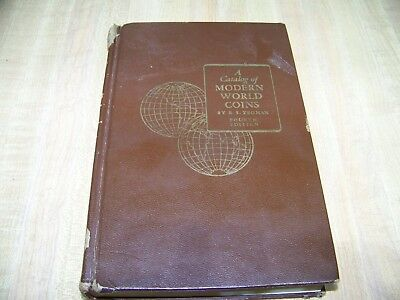 A Catalog Of Modern World Coins By R.S. Yeoman 4th Edition Hardcover Book