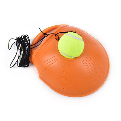 Trainer Baseboard Sparring Device Tennis Training Tool with Tennis ball W&T