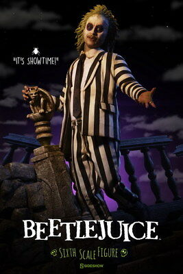 "005 BeetleJuice - Thriller Horror USA Classic Movie 14""x21"" Poster"