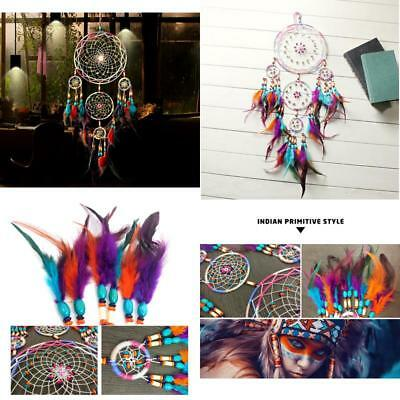 31 X-Large Dream Catcher Colorful Feathers Wall Home Office Hanging Ornament