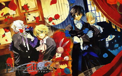 "033 PandoraHearts - Oz Vessalius Fight Japan Anime 38""x24"" Poster"