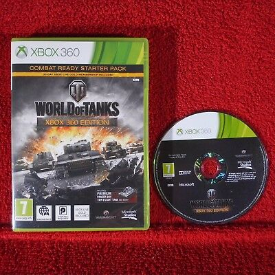 WORLD OF TANKS XBOX 360 EDITION - Microsoft Xbox 360 ~PAL~7+ Online only!