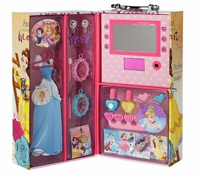 Disney Princess Wardrobe of Beauty Make Up Set Children
