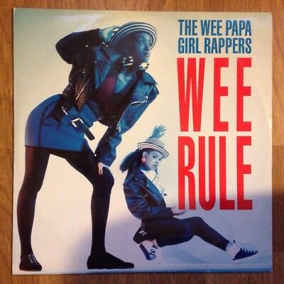 "The Wee Papa Girl Rappers - Wee Rule 12"" Hip Hop Britcore UK Acid House Rave DJ"