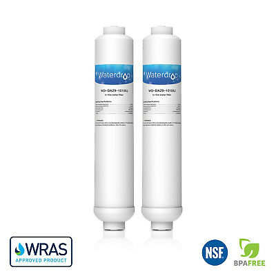 2 Compatible Water Filter for Samsung DA29-10105J HAFEX/EXP Fridge Water Filter