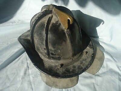 Cairns And Bro Leather Fire Dept Helmet 5-A