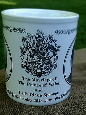 The Marriage Of The Prince Of Wales & Lady Diana Spencer Mug
