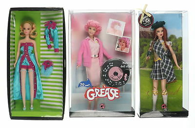 Lot Of 3 Assorted MATTEL Barbie Francie Frenchy & Scotland Doll