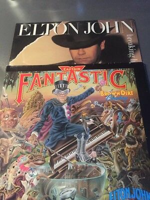 Elton John Captain Fantastic/Breaking Hearts