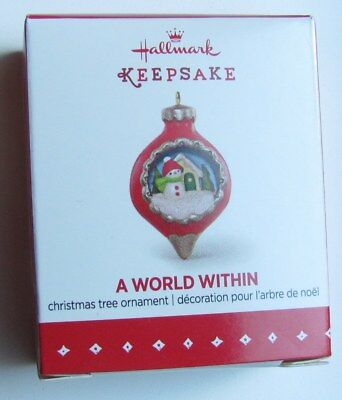 2015 Hallmark Keepsake Miniature Ornament A World Within #1 in Series NEW!