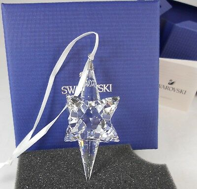 Swarovski 2017 Annual Edition Large Star Christmas Ornament 5287019 NIB