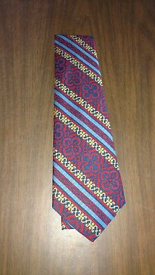 eve's creation vintage polyester mens neck tie 1970's new never worn