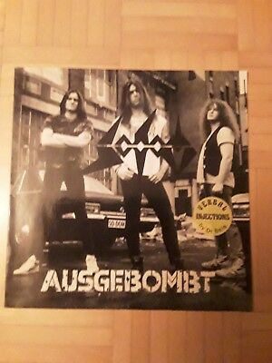 SODOM Ausgebombt Maxi LP  (Orginal Steamhammer Records)