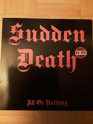SUDDEN DEATH All or Nothing LP  (Orginal MBP Records)