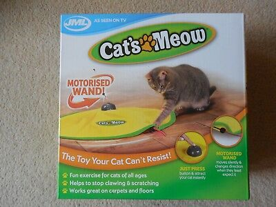 JML, Cat's Meow, Motorised Wand, Revolving Fun/ Play, Indoor Toy Mouse Tail