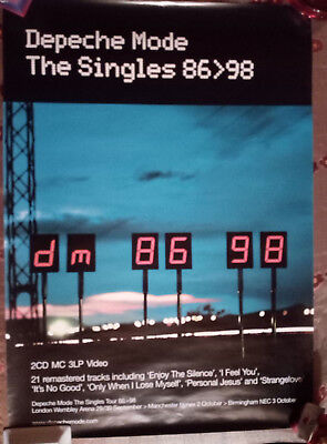 depeche mode 3 official  posters and 1 from festival