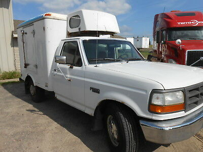 Ford F250 refrigerated Freezer truck