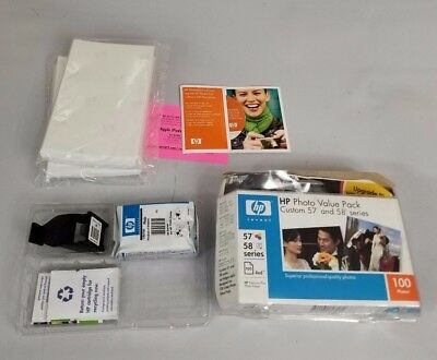 HP Photo Value Pack 58 Cb270a 100 Photo Sheets Opened Box Expired
