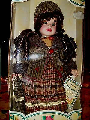 """Doll By Timeless Treasures- Limited Edition- Call """"Vanessa"""" 17""""  2003 Porcelain"""