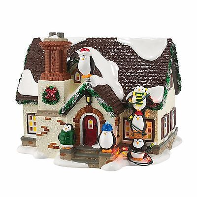 Dept 56 Snow Village - THE PENGUIN HOUSE - NEW 2016 FREE SHIPPING