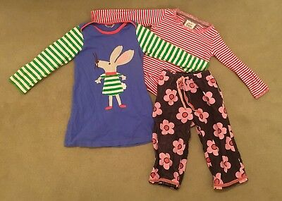 Mini Boden Girl's Bundle Dress Trousers Top 2-3 years