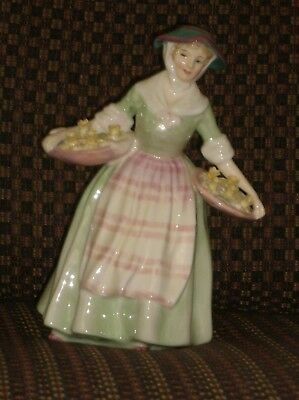 "Royal Doulton Figurines ""daffy Down Dilly"" & ""marie"
