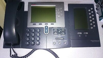 Cisco CP-7962 G - IP Phone mit Key Modul 7915 - Systemtelefon - VOIP