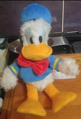 Official Disneyland Paris Store Donald Duck walt Disney Small plush toy teddy