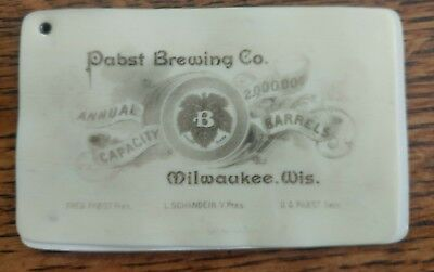 Pabst Brewing Co., Advertising Barrels Sold 1892, 2 Notepads