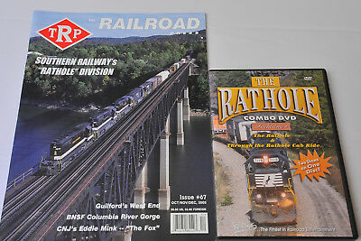 The Rathole Combo Cab Ride DVD Rail Fan Railroad Video NS CNOTP Norfolk Southern