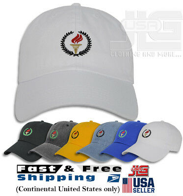 d4e9350d250 TORCH Hat Dad Embroidered Cap Polo Style Baseball Curved Unstructured Bill