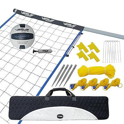 NEW Verus Sports Volleyball Net System Outdoors Yard Park Camping Family Fun