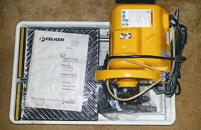 Felker Tm-75 Tile Saw with gently used blade
