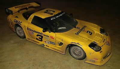 DALE EARNHARDT, 1/18, 2001 DAYTONA C5R GOODWRENCH CORVETTE -- Raced Edition