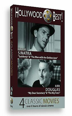 Hollywood Best: 4 Classic Films featuring Frank Sinatra / Kirk Douglas (DVD)