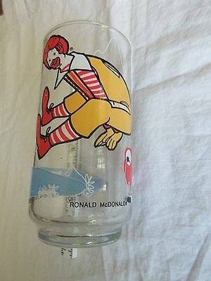 McDonald's Collectible Glass 1977 Vintage Collector Action Series Ronald