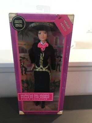 Barbie Dolls of the World - Mexico Mariachi - Special Edition - Collector