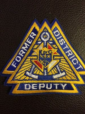 Knights Of Columbus Former District Deputy Patch