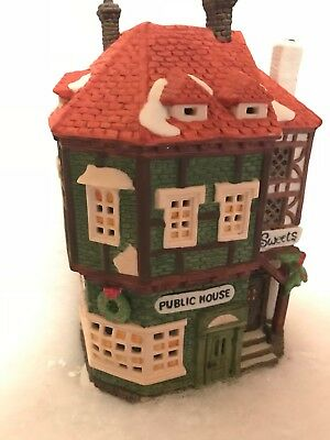 DEPT 56 C. Fletcher Public House Dickens Heritage Village Series Limited #5904-8