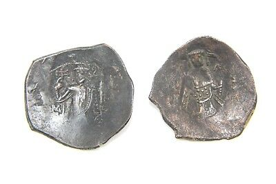 Two Bronze Byzantine Coins, Unresearched, Xii Century.    1V404