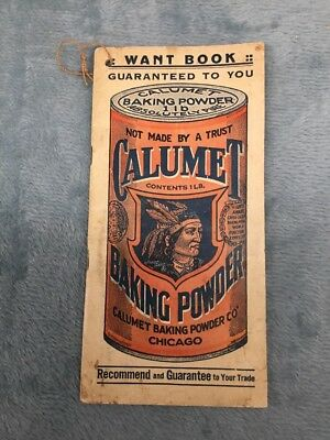 CALUMET BAKING POWDER CHICAGO BOOKLET Stock#B486