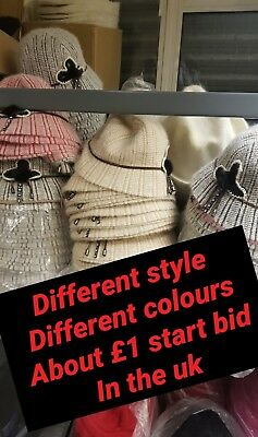 Quality Hand Made buckets hat clutch trilby fedora job lot 50pcs clearance mixed