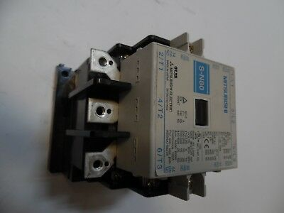 Mitsubishi Magnetic Contactor, S-N80, 240-440V 85A