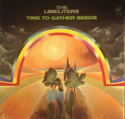 The LIMELITERS Time to Gather Seeds 4T  REEL TO REEL TAPE  7.5 IPS WB