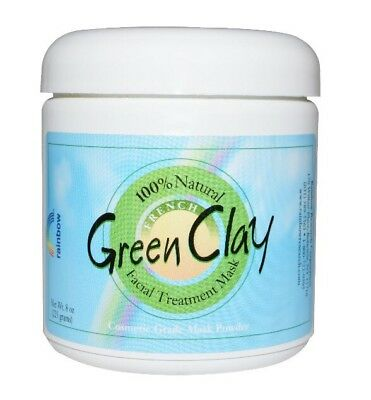 ✅Facial Treatment Mask Powder -FRENCH GREEN CLAY- 100% Natural - 225g