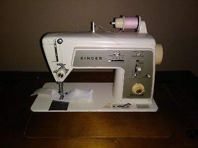 Singer Touch and Sew Model 648 Hideaway Sewing Machine Vintage