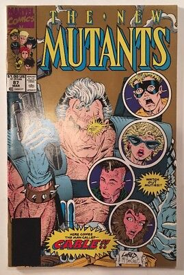 The New Mutants #87 1st App. of Cable VF (2nd Print)!