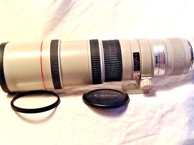 CANON EF 400mm f/5.6 L USM TELEPHOTO PRIME LENS for EOS DSLR MINTY WITH COLLAR