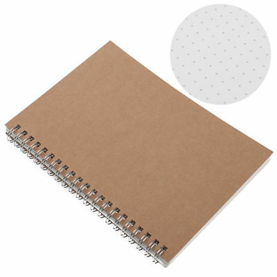 A5 Bullet Journal Notebook Medium A5 Hardcover, 90 Pages Dot Grid Journal, white