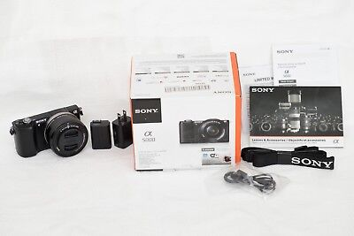 Sony Alpha a5000 20.1MP camera 16-50mm lens. New(Open-Box). Photography/vlogging